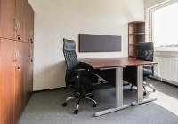 Meble biurowe TOBO: biurka na stelażach metalowych, kontenery , szafy zamykane na klucz, krzesła biurowe
