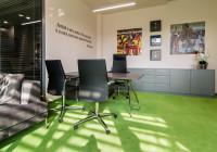 Meble gabinetowe w biurze klubu Jagiellonia Białystok