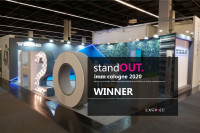 Erster Platz für Standdesign im StandOut-Wettbewerb