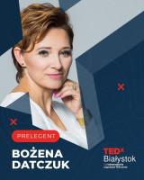 Współwłascicielka firmy Tobo w TEDxBialystok